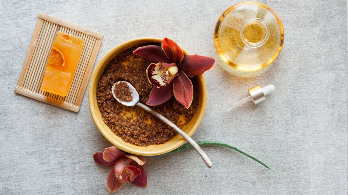 Natural remedies for skin exfoliation