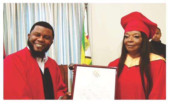 Congratulations – Dr Smelly Dube