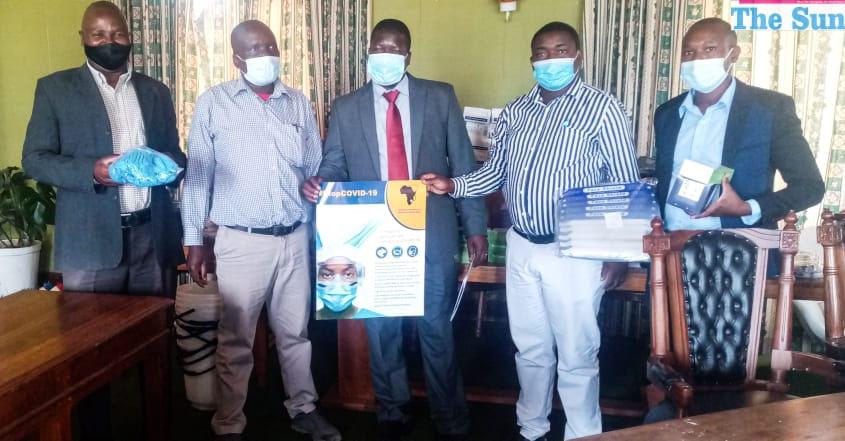 ZADHR donates PPEs to GCC